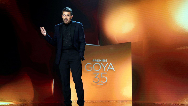 Antonio Banderas durante la presentación de la gala.(EFE)