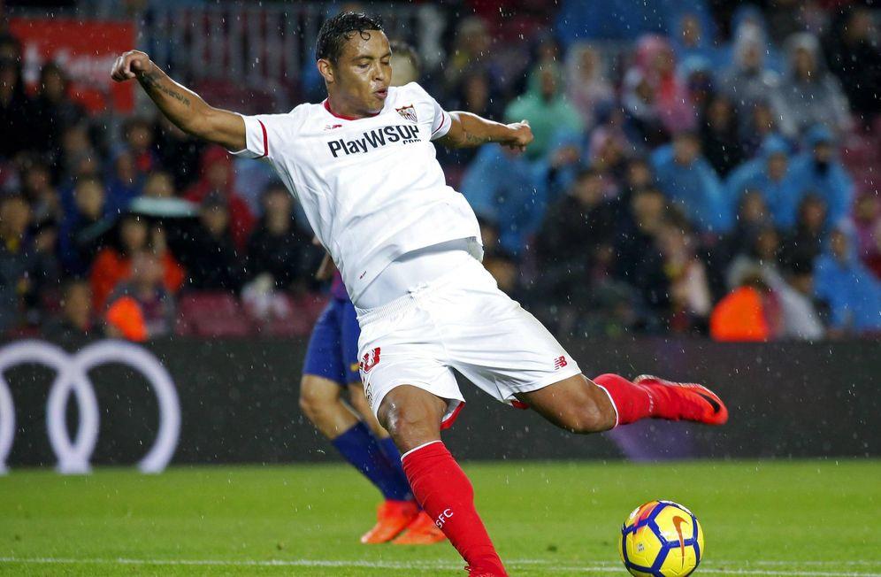Foto: Luis Muriel, durante un partido de esta temporada. (Cordon Press)