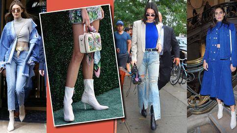 Gigi Hadid y Kendall Jenner tienen los trucos para llevar los botines de la temporada