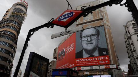 Gabilondo 'coloniza' Callao con una pancarta: Tras la foto, ¿el Gobierno de Colón?