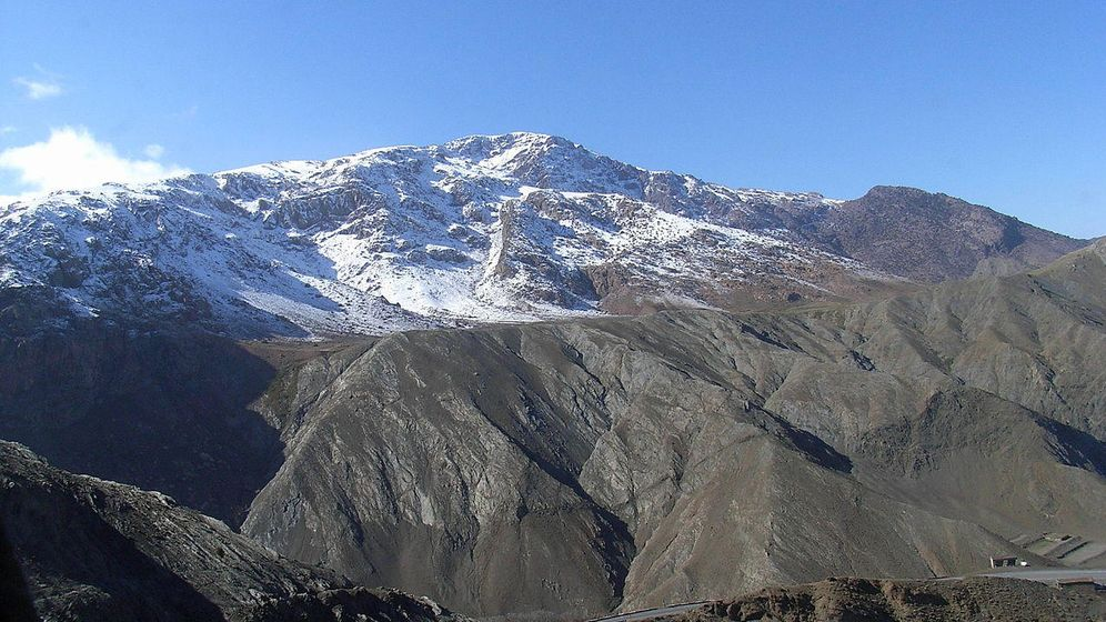 Foto: Paso montañoso en el Alto Atlas, Marruecos