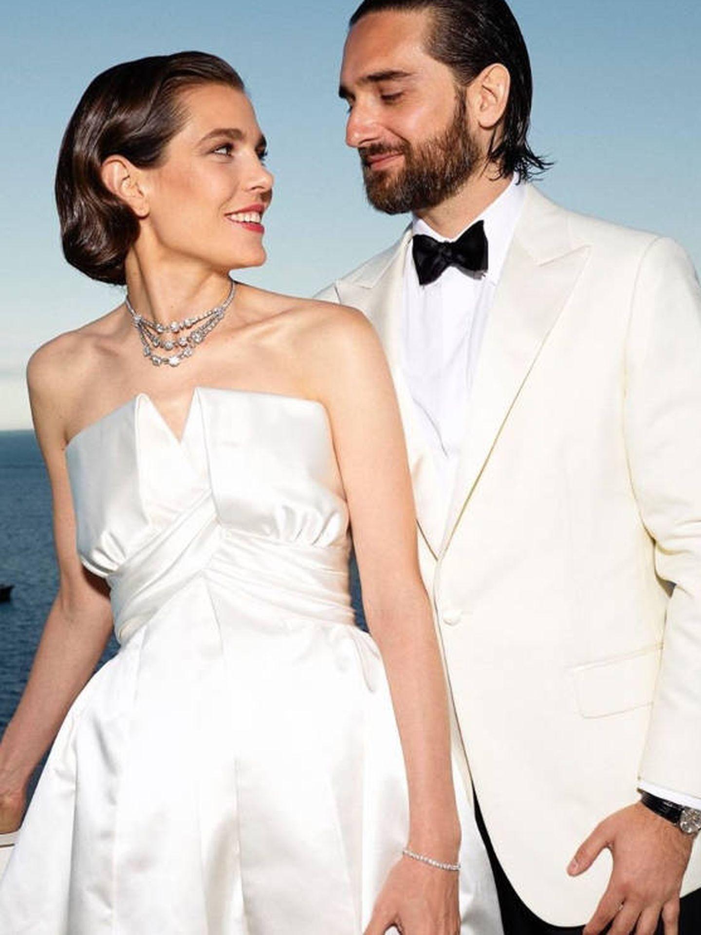 Carlota Casiraghi y Dimitri Rassam. (Palais Princier de Monaco)