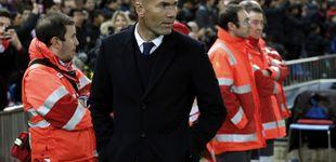 Post de Zidane exorciza el Calderón y ya no recuerda el último partido que perdió