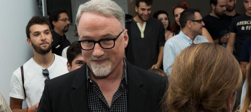 Foto: El director David Fincher en la Escuela TAI (Magaly Briand)