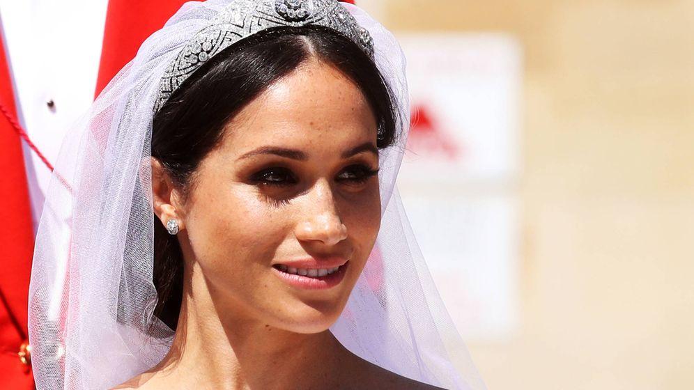 Foto: La duquesa de Sussex el día de su boda. (Getty Images)