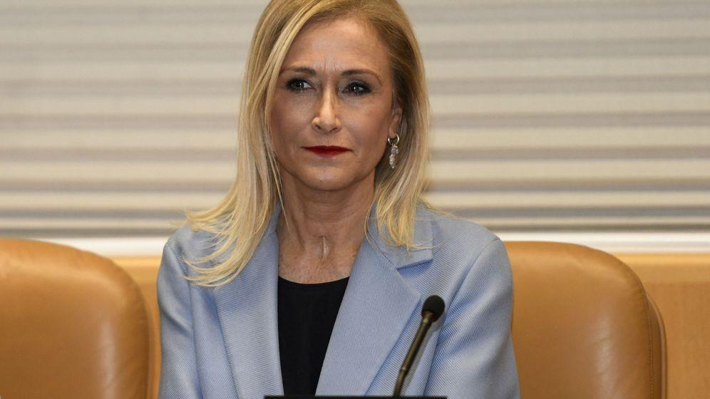 Foto: Imagen de archivo de la expresidenta madrileña Cristina Cifuentes. (EFE)