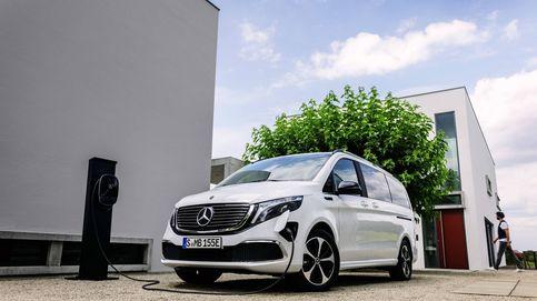 Mercedes EQV, el primer monovolumen eléctrico que está fabricado en España