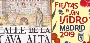 Post de Madrid vuelve a hacerlo: de los carteles de San Isidro a la tipografía 'Chulapa' (gratis)