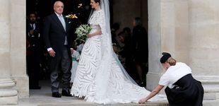 Post de París, Óscar de la Renta y el mejor vestido del día: la boda del heredero de Napoléon