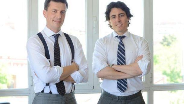 Foto: Daniel de Carvajal y Luis Martín Lázaro, fundadores de Trappit.