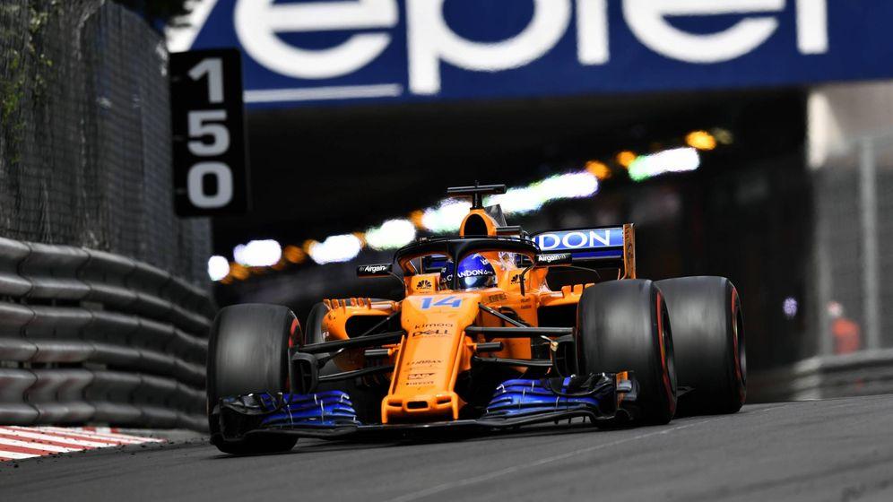 Foto: Fernando Alonso en Mónaco con su MCL33. (Imago)