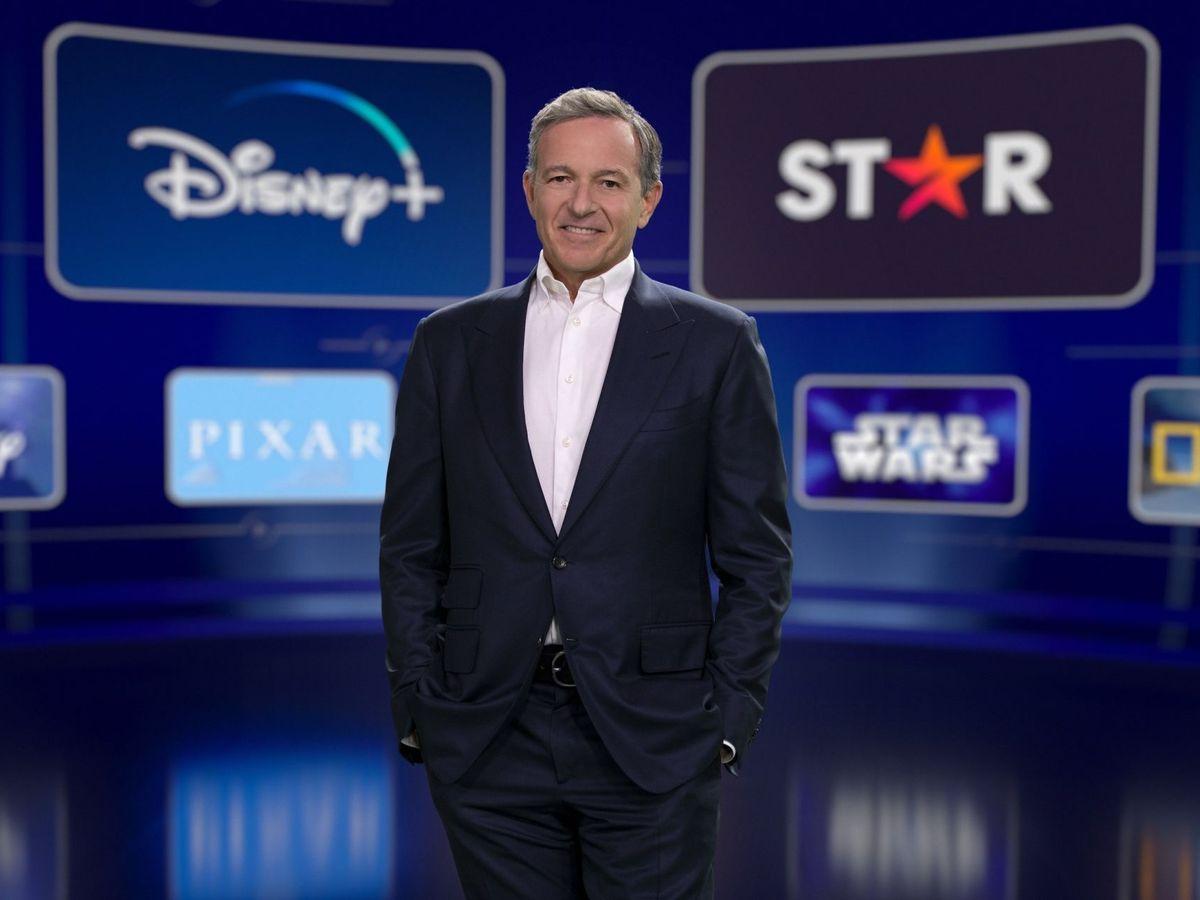 Foto: Disney espera tener hasta 350 millones de suscriptores para finales de 2024. En la foto, Bob Iger, presidente de Disney. (Efe)