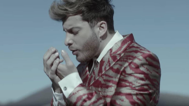 Blas Cantó en un fotograma del videoclip de 'Universo'. (Youtube)