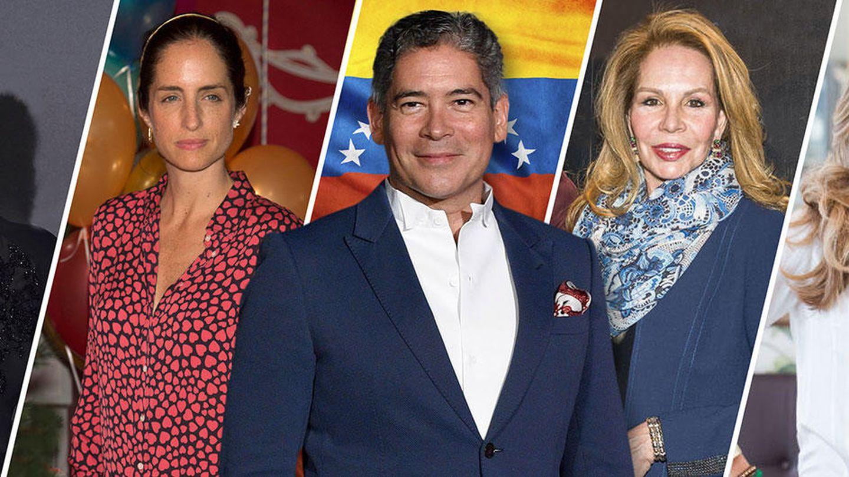 Margarita Vargas, Adriana Carolina Herrera, Boris Izaguirre, Lilia López y Johanna von Müller-Klingspor Pesquera.