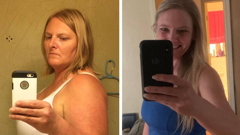 """La mujer que adelgazó 70 kilos con """"un solo cambio que cualquiera puede hacer"""""""
