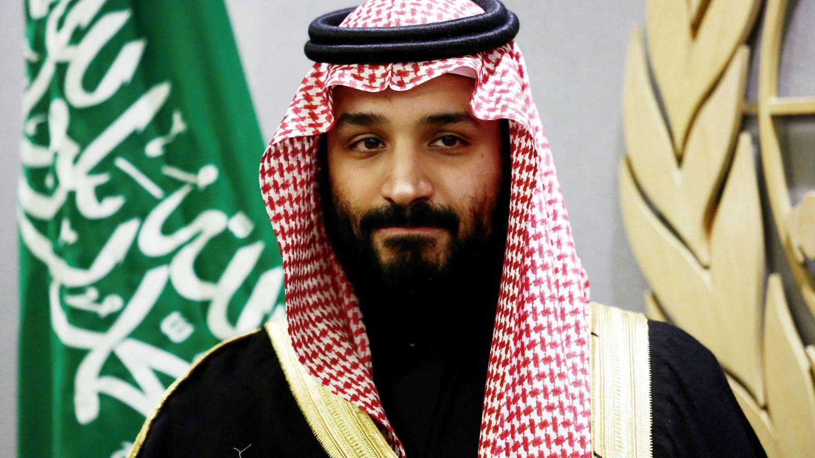 Foto: Mohamed bin Salmán en una imagen de archivo. (Reuters)