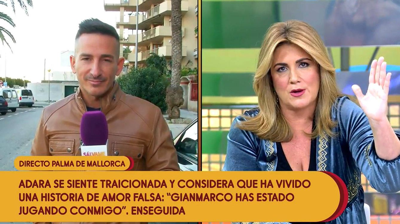 Un micro abierto le juega una mala pasada al reportero Sergi Ferre ('Sálvame')