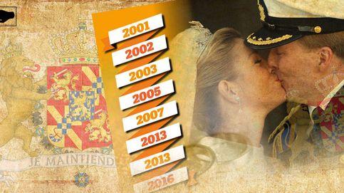 15 años de la boda de los reyes de Holanda: el único matrimonio sin crisis