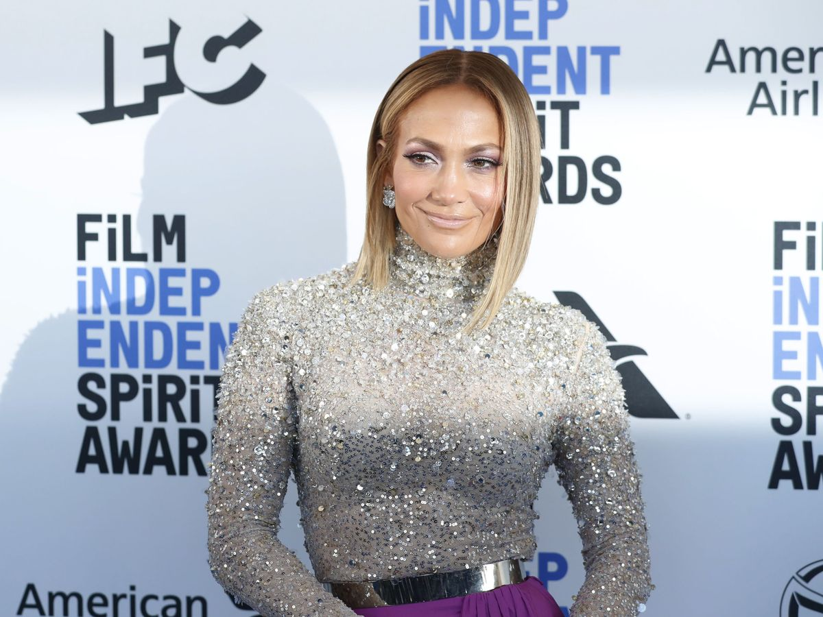 Foto: Jennifer Lopez, en los recientes premios Film Independent Spirit Awards. (Reuters)