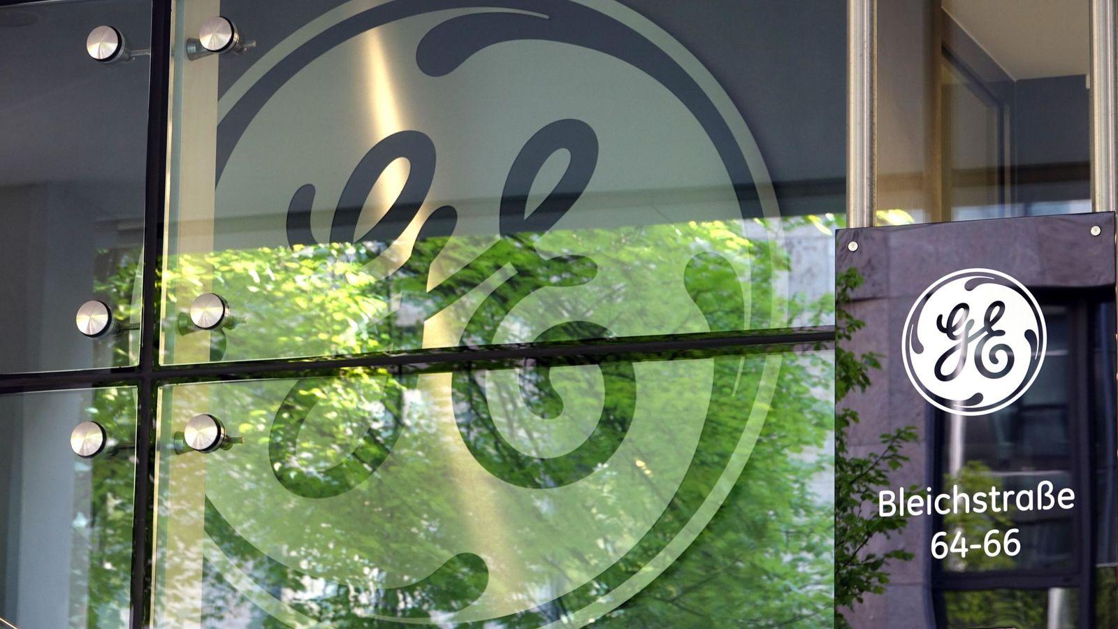 Foto: El logo de General Electric. (EFE)