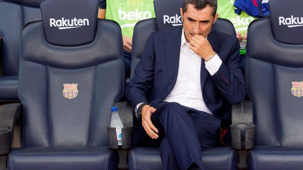 Valverde juega a pensarse la renovación en un Barcelona que está lleno de espinas