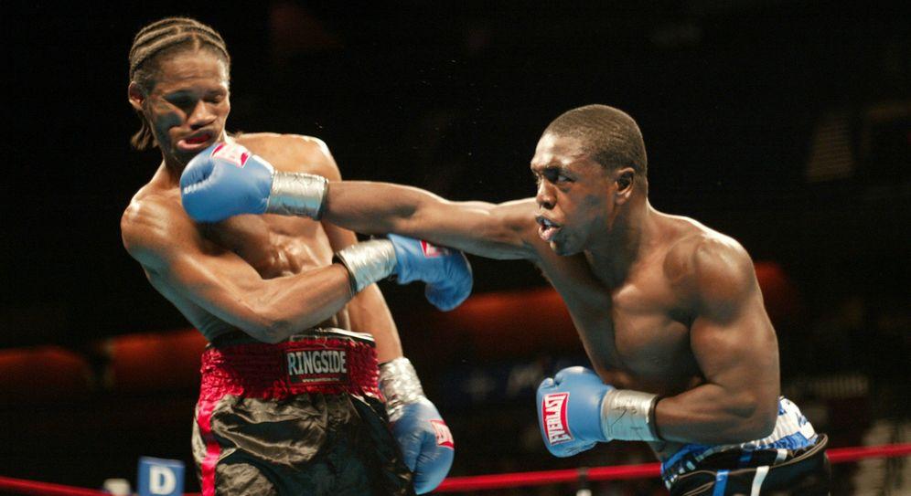 Foto: Andre Berto, a la derecha, durante un combate (Reuters)
