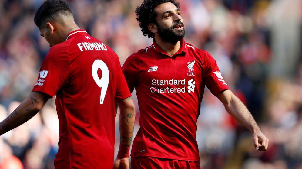Foto: Firmino y Salah, la esperanza del Liverpool. (Reuters)