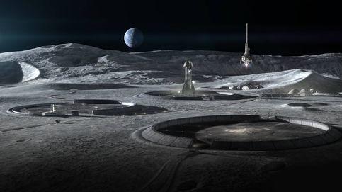 El tren flotante clave para la supervivencia de la primera colonia lunar