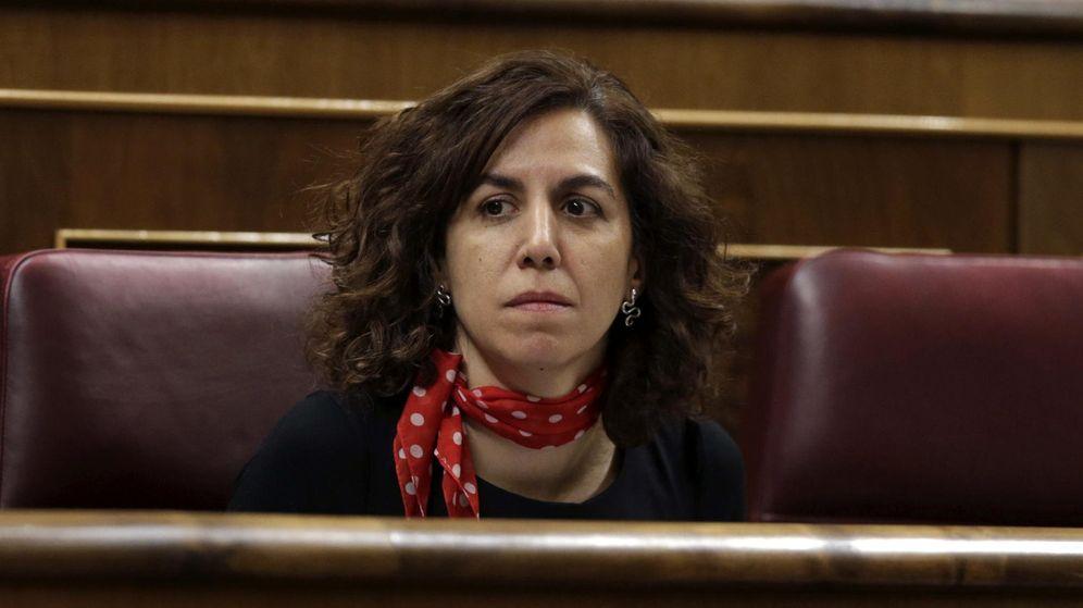 Foto: Irene Lozano, en el Congreso de los Diputados. (EFE)