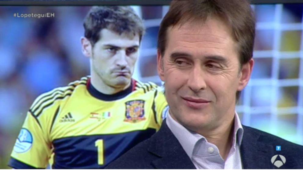 Lopetegui insinúa en 'El hormiguero' que Casillas podría volver a la selección