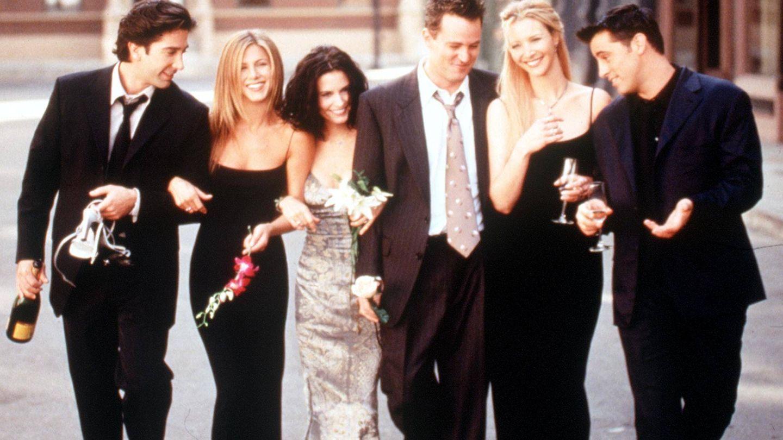 No nos cansaremos de ver Friends...ni de su merchandising. (Getty)