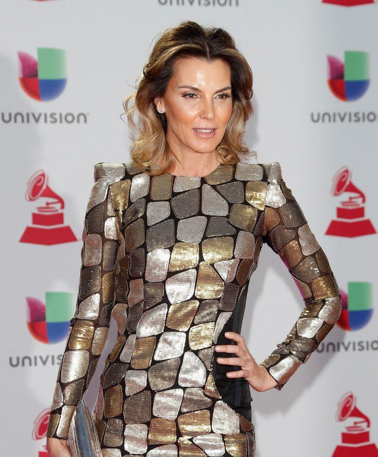 Foto: Mar Flores, el pasado noviembre, en la ceremonia de los Grammy Latinos. (EFE)