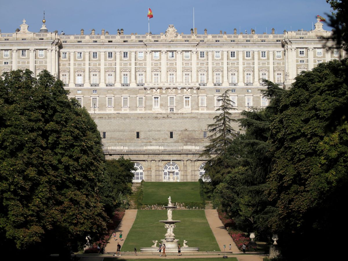 Foto: Los jardines del Palacio Real. (Reuters)