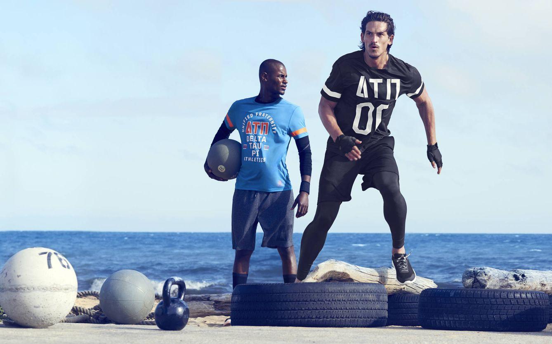 Foto: Deja de correr solo. Gente que practica los mismos deportes que tú está muy cerca de ti (Foto: H & M)