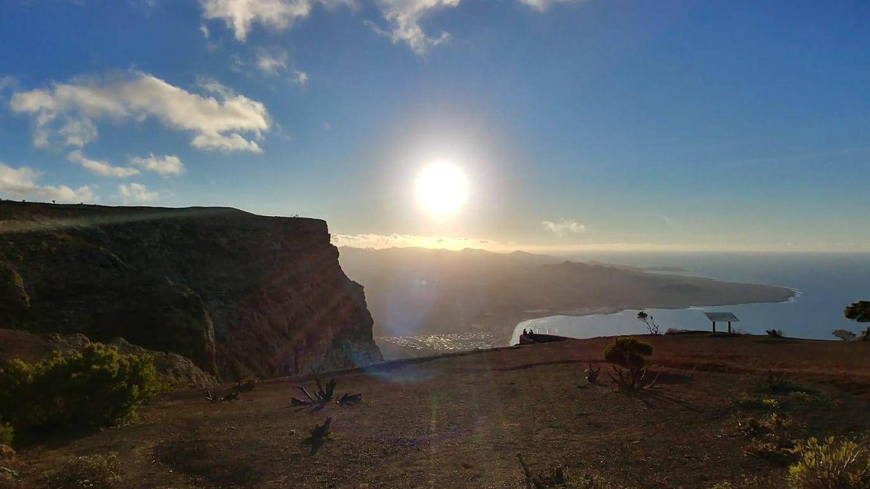 Vistas de Famara desde el Bosquecillo. (VA)