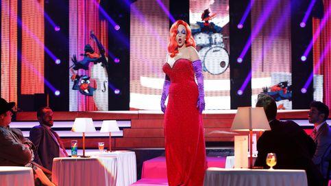 'Tu cara me suena': Ruth Lorenzo se pone sexy en la piel de Jessica Rabbit y gana la gala