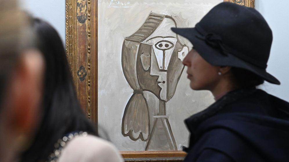 Foto: 'Retrato de Jacqueline', de Picasso, la obra más cara en ARCO 2020 (EFE)