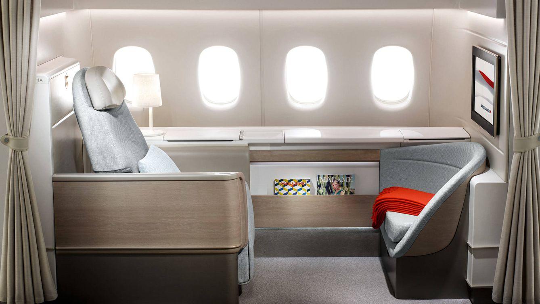 Foto: La primera clase de Air France.