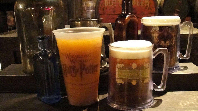 Cervezas en el Wizarding World of Harry Potter.