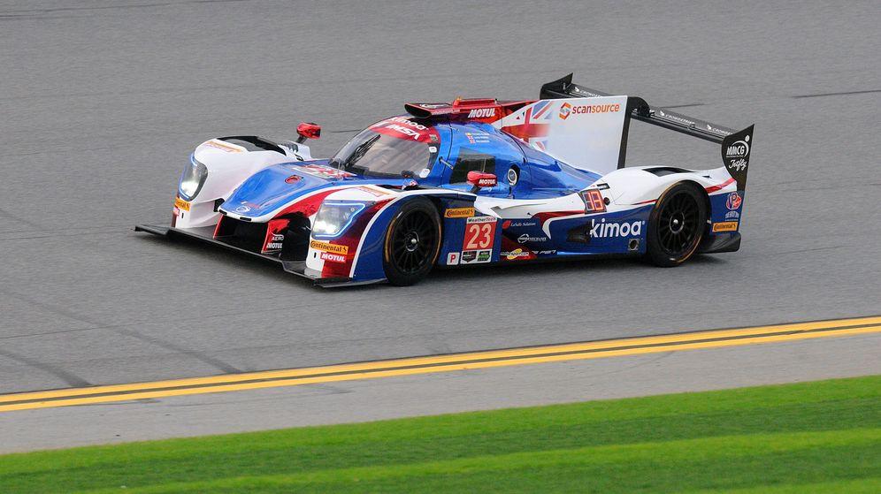 Foto: El coche de Fernando Alonso saldrá 13º en las 24 Horas de Daytona. (EFE)