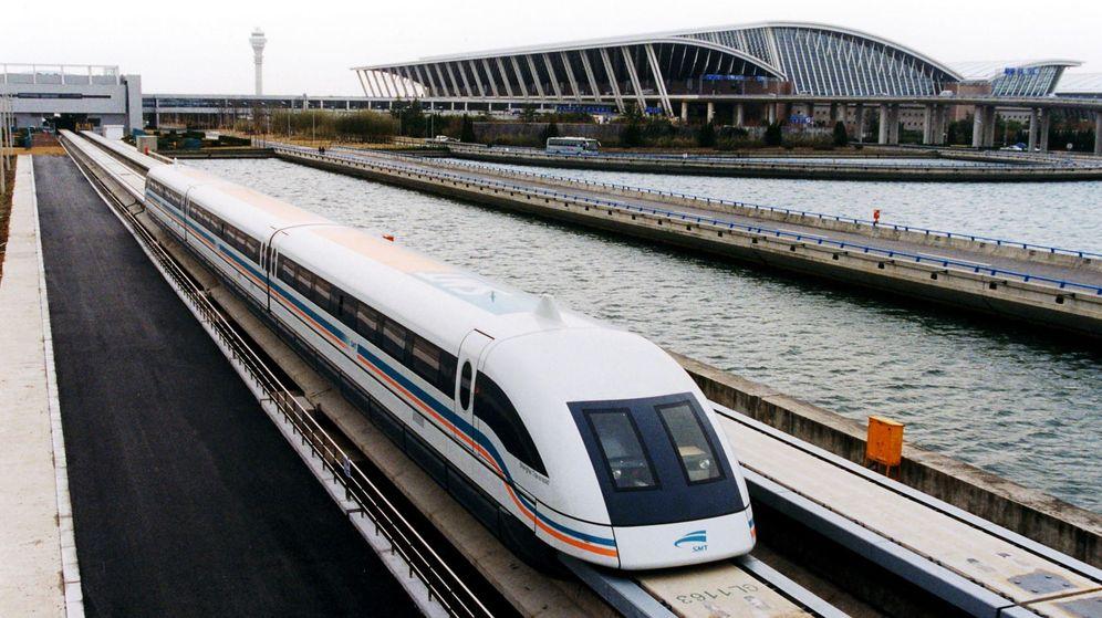 Foto: Un tren japonés bate el récord del mundo de velocidad rozando los 600 km/h
