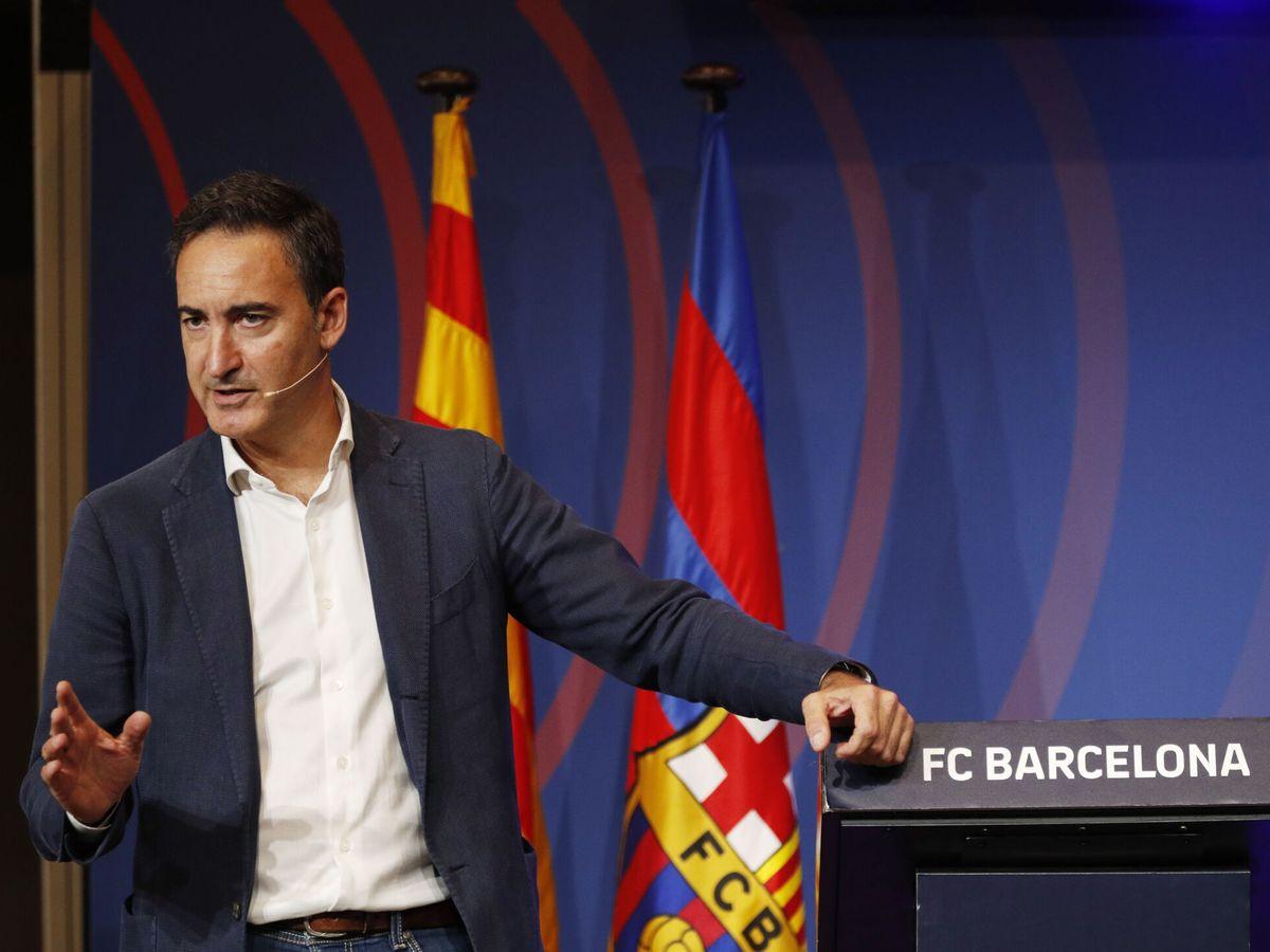 Foto: Ferrán Reverter, director general del Barcelona. (Reuters)