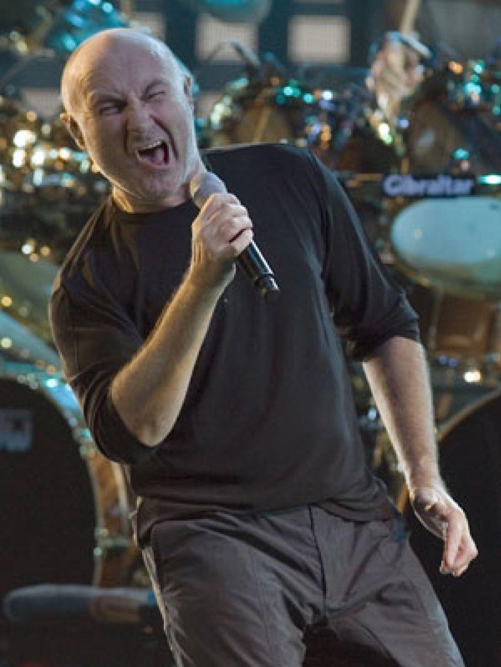 Foto: Phil Collins deja la música porque se está quedando sordo