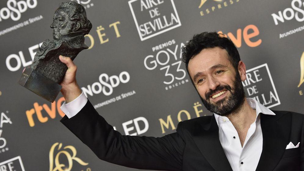Foto: Rodrigo Sorogoyen posa en los Premios Goya 2019. (EFE)