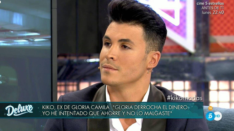 Kiko Jiménez, en 'Sábado Deluxe'. (Telecinco)