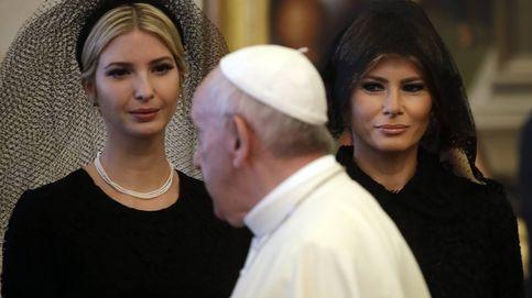 El despropósito estilístico de las Trump con el Papa y las mantillas