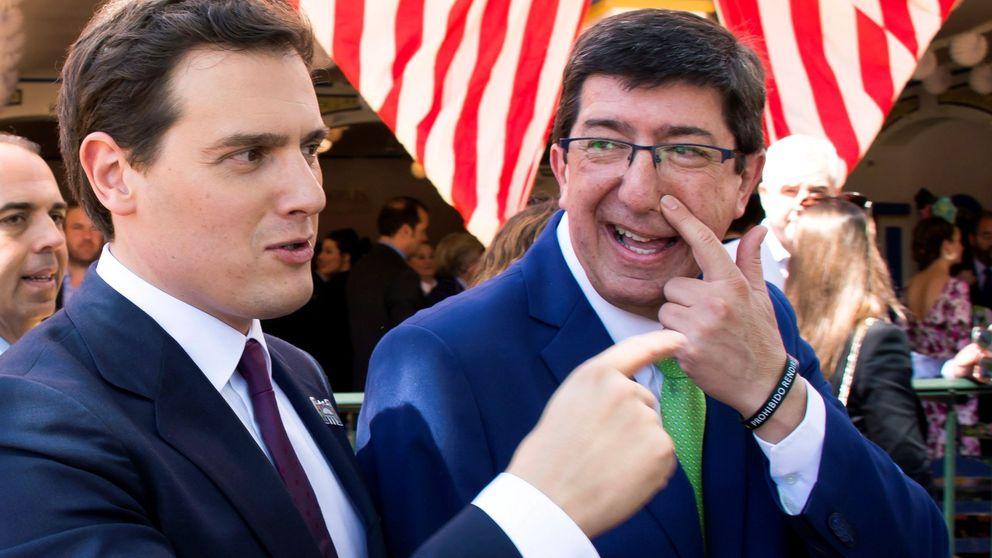 Rivera reta a Casado a apoyar a Cs en Andalucía y llama a la rebelión cívica