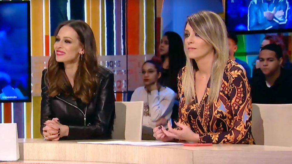 Foto: Eva González y Anna Simon. (Atresmedia Televisión)