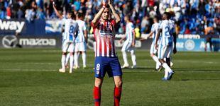 Post de El tirón de orejas de Saúl al once de Simeone sin delantero centro