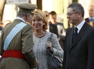 Foto: Gallardón: es una pena que se utilice un acto de Estado para silbar a Zapatero